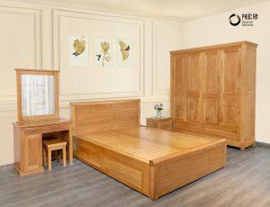 Bộ nội thất phòng ngủ gỗ
